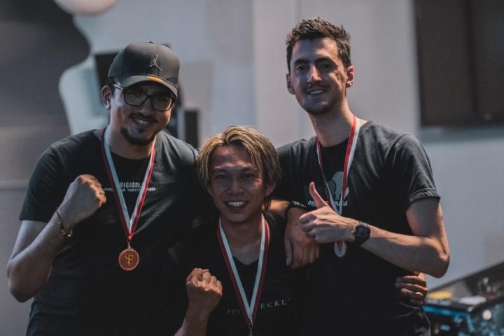 Gold Medal in Tekken